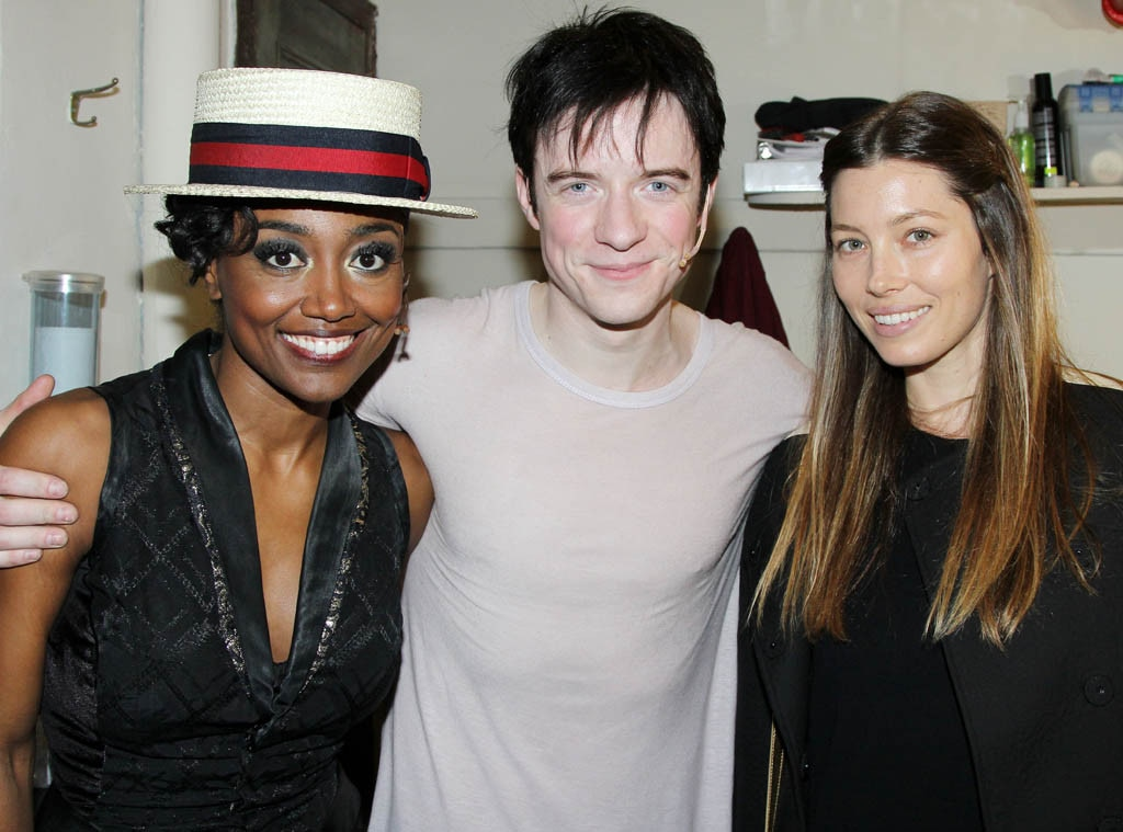 Patina Miller, Matthew James Thomas, Jessica Biel Timberlake