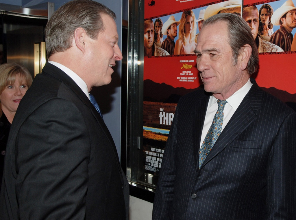 Al Gore, Tommy Lee Jones