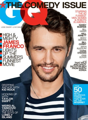 James Franco, GQ