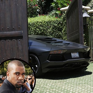 Kanye West, Lamborghini Aventador