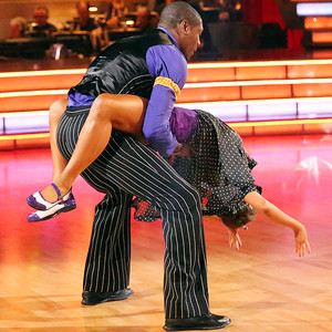 Jacoby Jones, Karina Smirnoff, Dancing with the Stars