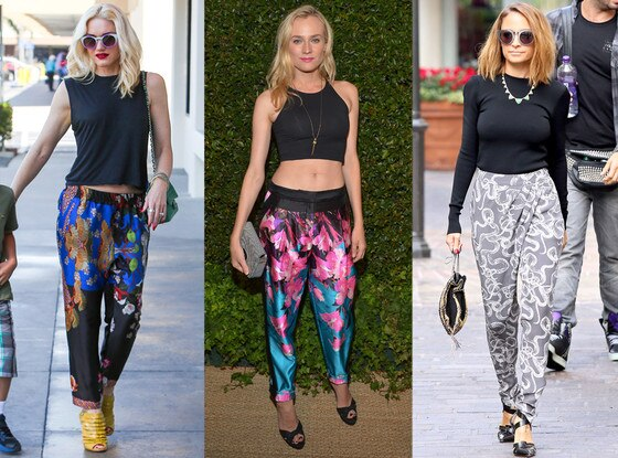 Gwen Stefani, Diane Kruger, Nicole Richie, Crazy Pants