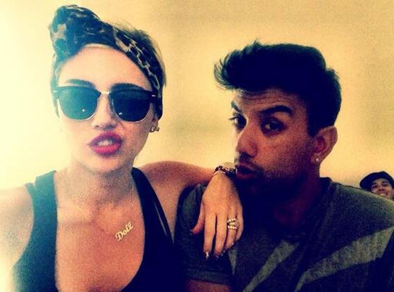 Miley Cyrus, Twit Pic