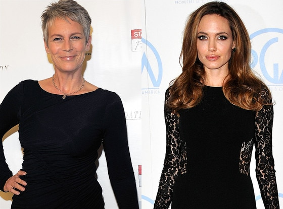 Jamie Lee Curtis, Angelina Jolie