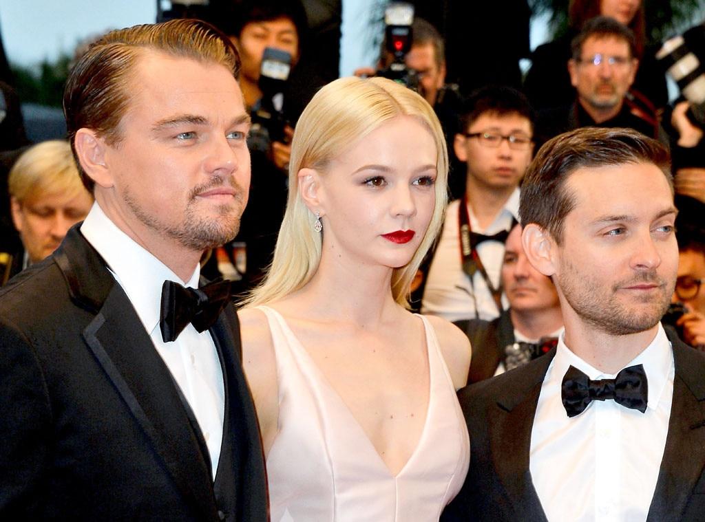 Leonardo DiCaprio, Carey Mulligan, Tobey Maguire, Cannes Film Festival