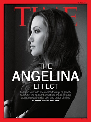 Angelina Jolie, Time Magazine