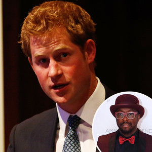 """Will.i.am Compares Prince Harry to Iron Man, Says Royal Has a """"Beautiful Heart"""""""