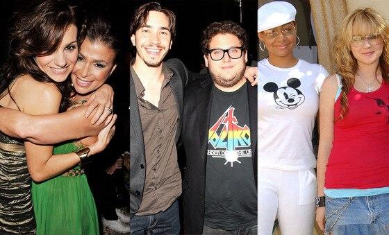 Paula Abdul, Kara Dioguardi, Justin Long, Jonah Hill, Raven Symone, Lindsay Lohan