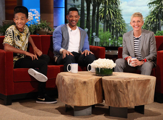 Jaden Smith, Will Smith, Ellen Degeneres Show