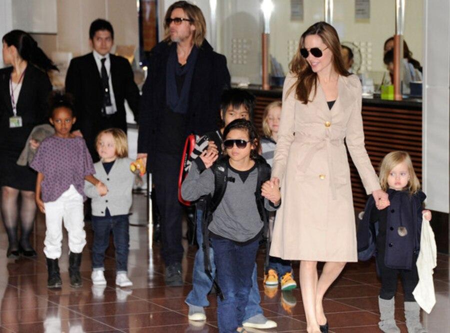 Brad Pitt, Angelina Jolie, Children