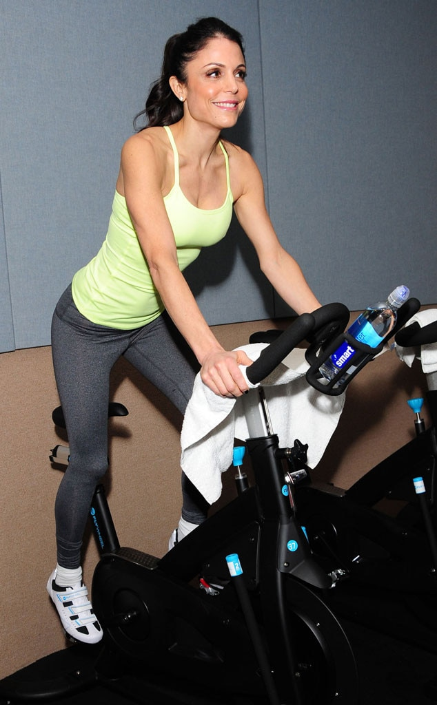 Celebrity Workouts, Flywheel, Bethenny Frankel
