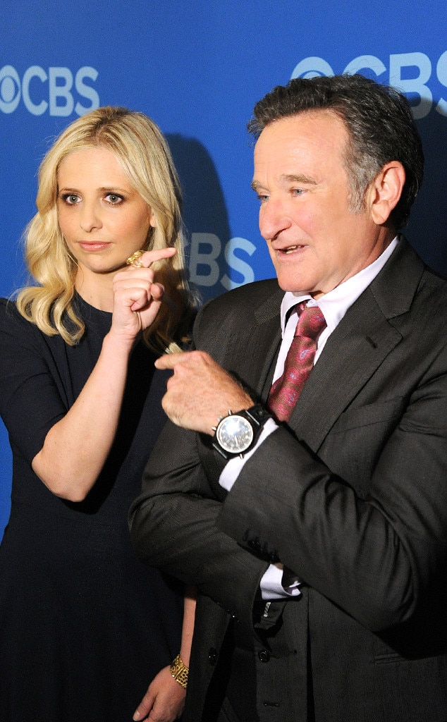Sarah Michelle Gellar, Robin Williams, Famous Friends