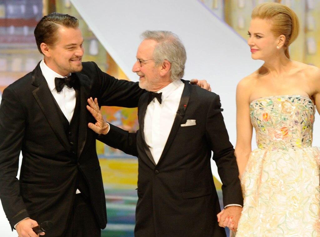 Leonardo DiCaprio, Steven Spielberg, Nicole Kidman