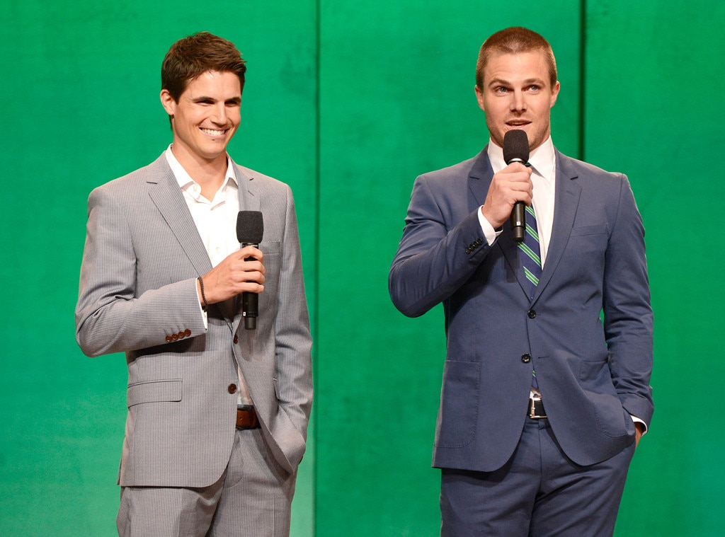 Robbie Amell, Stephen Amell, CW Upfront