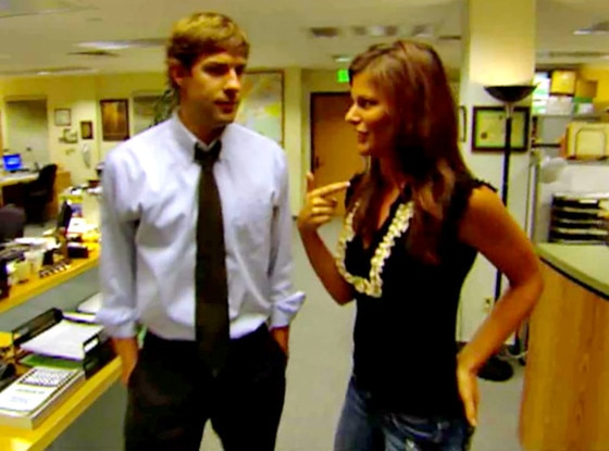 Kristin Dos Santos, John Krasinski, The Office