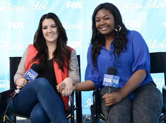 Kree Harrison, Candice Glover, American Idol