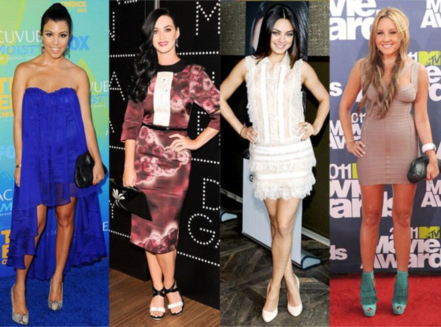 Weight Reveal, Kourtney Kardashian, Katy Perry, Mila Kunis, Amanda Bynes
