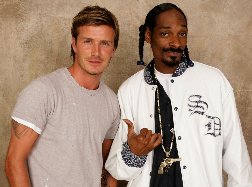 David Beckham, Snoop Dogg