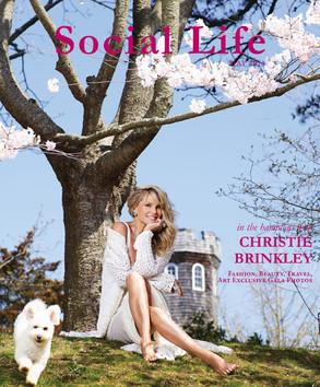 Christie Brinkley, Social Life Magazine