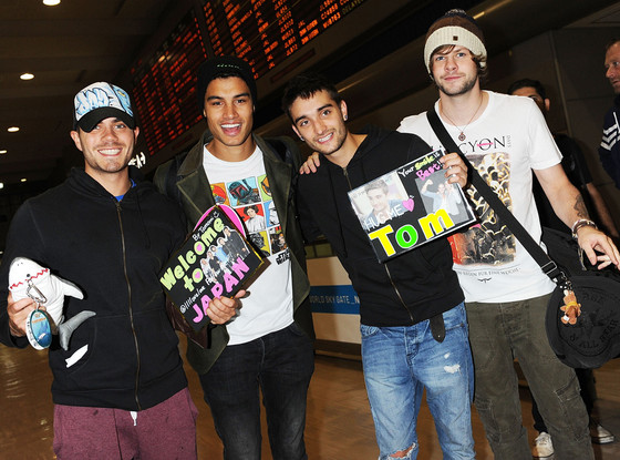 Max George, Siva Kaneswaran, Tom Parker, Jay McGuiness, The Wanted