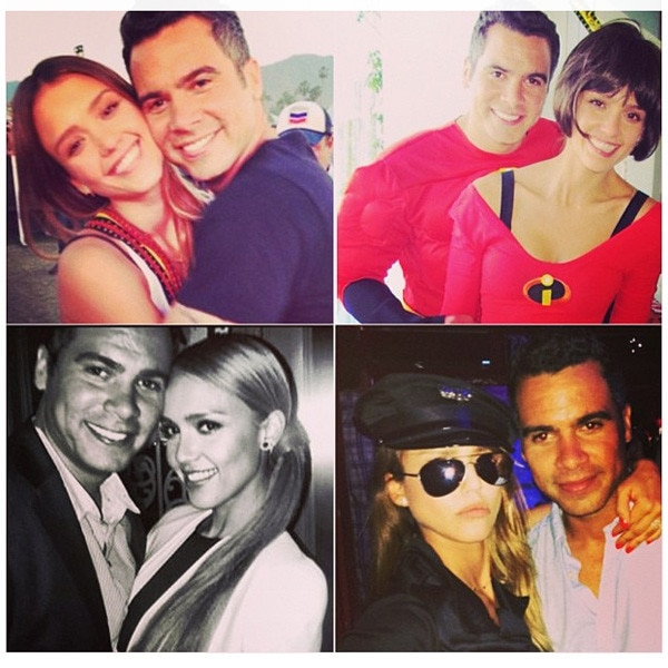 Jessica Alba, Cash Warren, Instagram