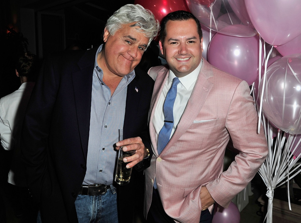 Jay Leno, Ross Mathews