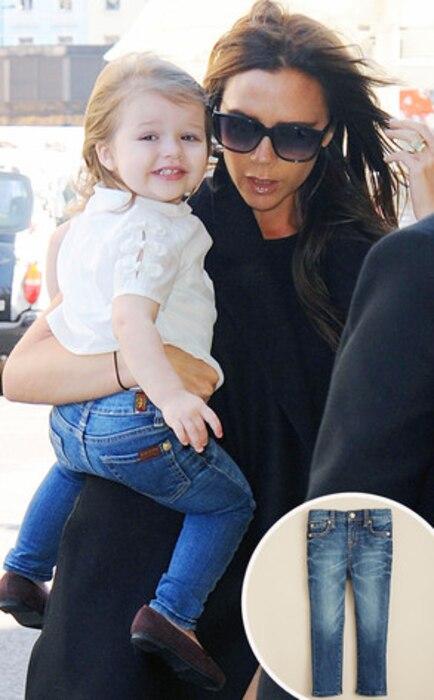 Victoria Beckham, Harper, 7 Jeans