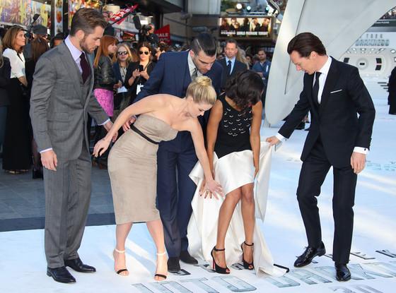Chris Pine, Benedict Cumberbatch, Zachary Quinto, Zoe Saldana, Alice Eve