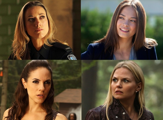 Kristin Kreuk, Beauty and the Beast, Anna Silk, Zoie Palmer, Lost Girl, Jennifer Morrison,Once Upon a Time