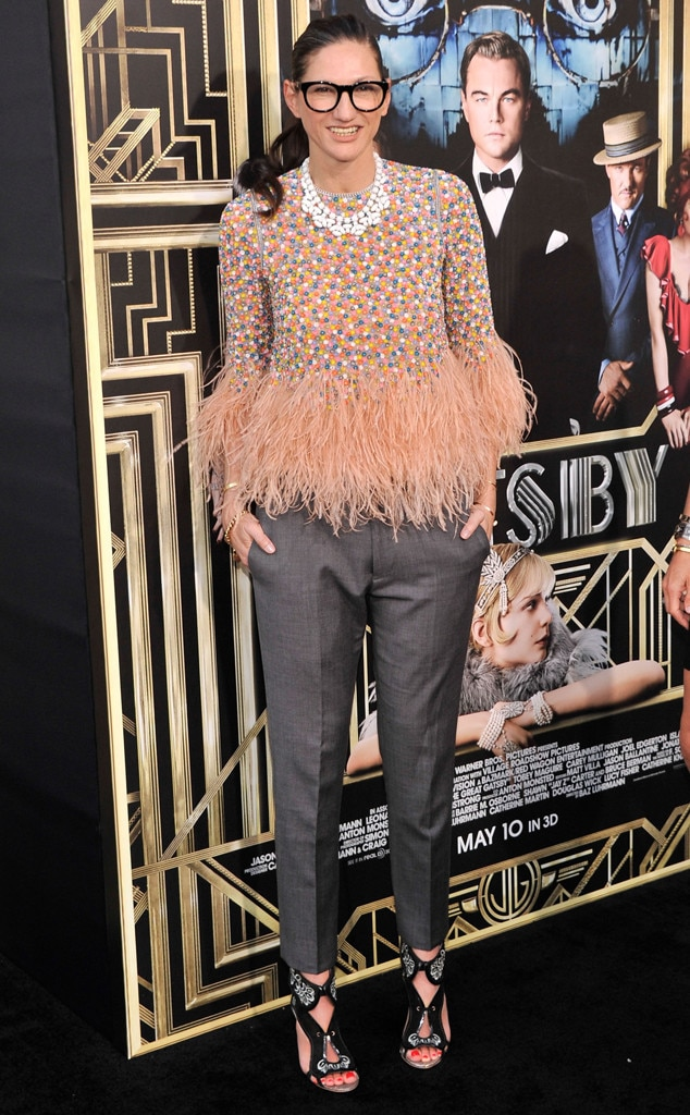 Jenna Lyons, The Great Gatsby Premiere