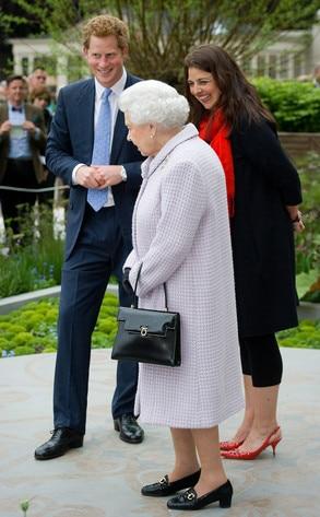 Queen Elizabeth II, Prince Harry