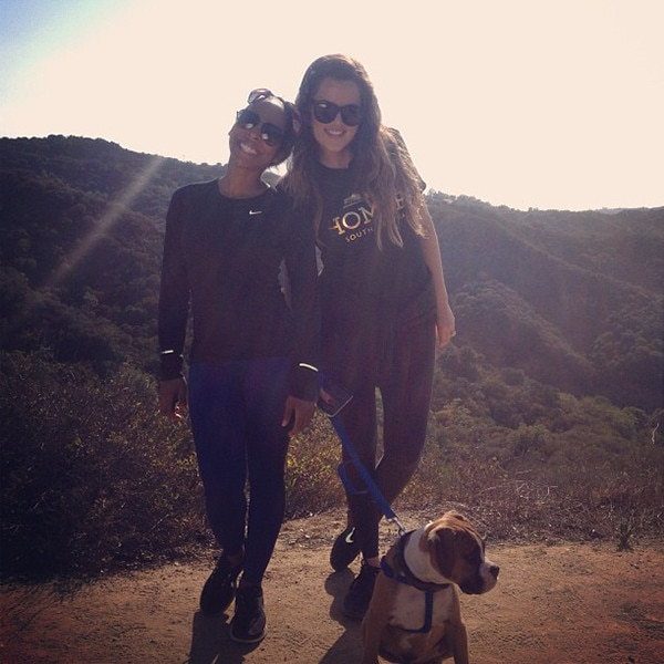 Khloe Kardashian, Bernard Hopkins, Instagram