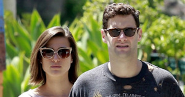 Justin Bartha Engaged Girlfriend Lia Smith Steps Out With