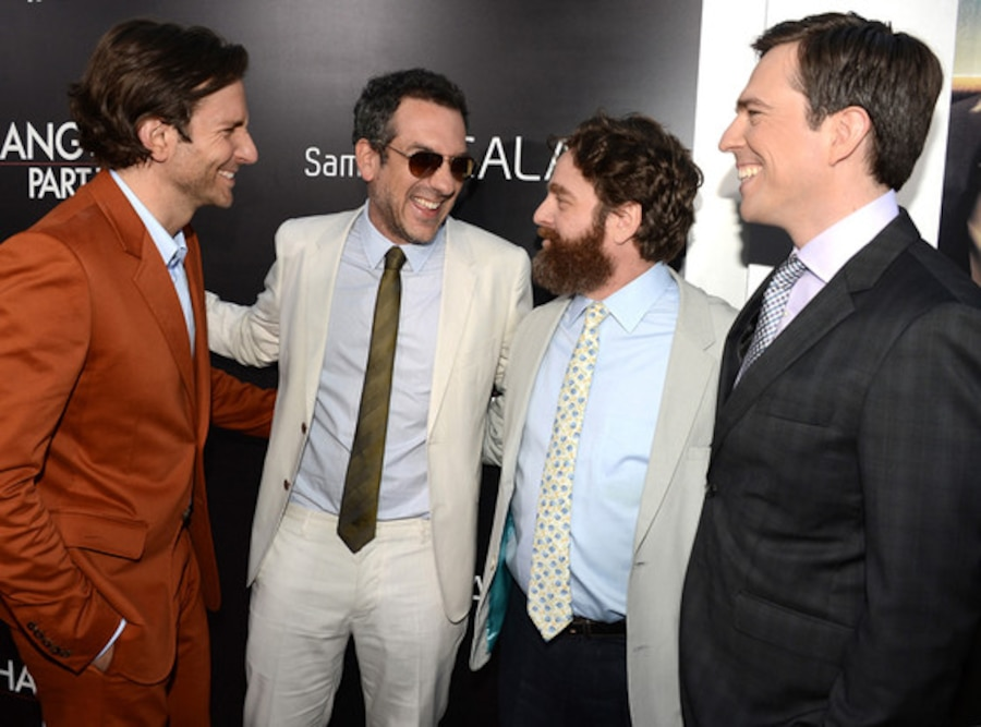 Bradley Cooper, Todd Phillips, Zach Galifianakis, Ed Helms