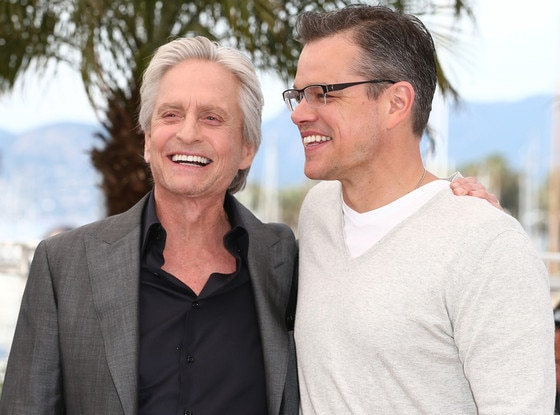 Michael Douglas, Matt Damon, Cannes