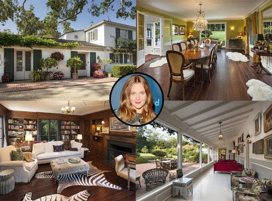 Drew Barrymore, House