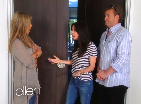 Ellen, Jennifer Aniston, Matthew Perry, Courteney Cox