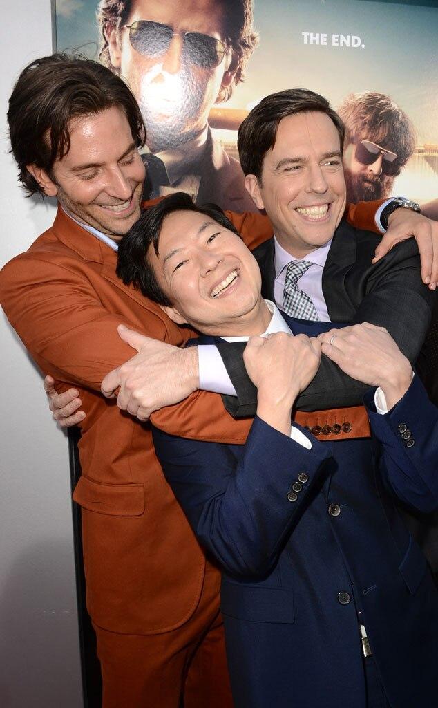 Bradley Cooper, Ken Jeong, Ed Helms