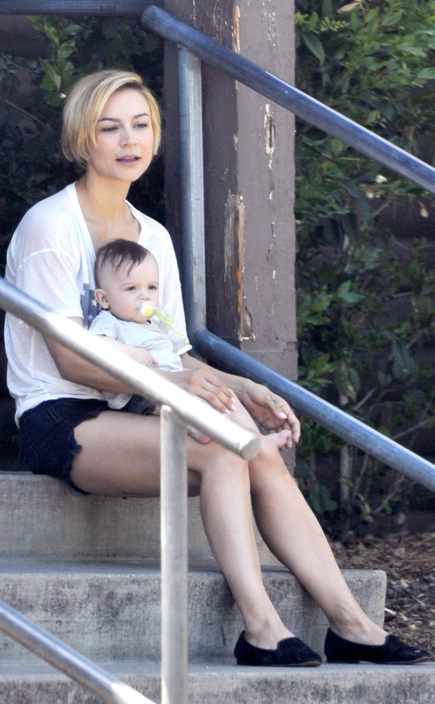 Samaire Armstrong, Baby, Calin