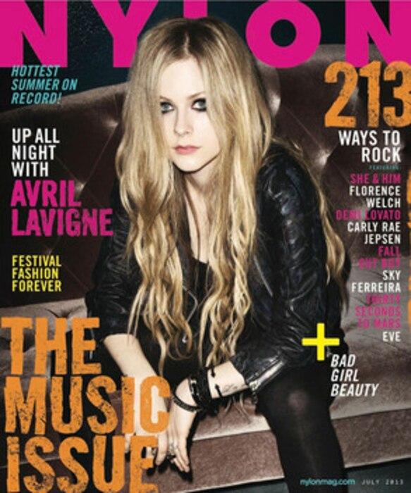 Avril Lavigne, Nylon Magazine