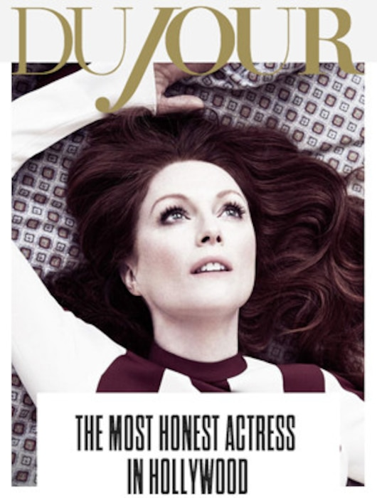 Julianne Moore, DuJour Magazine