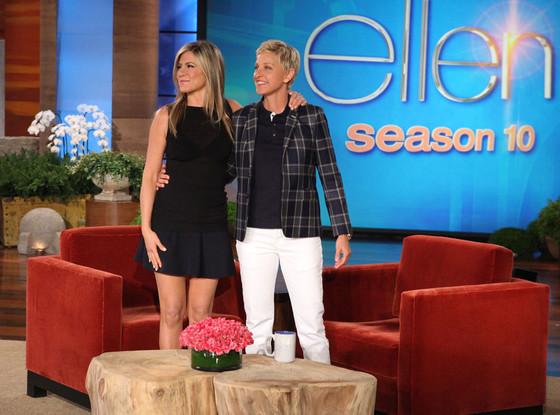 Ellen DeGeneres, Jennifer Aniston