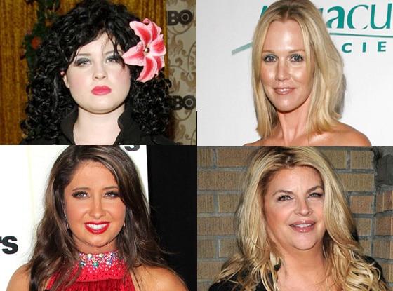 Kelly Osbourne, Jennie Garth, Bristol Palin, Kirstie Alley