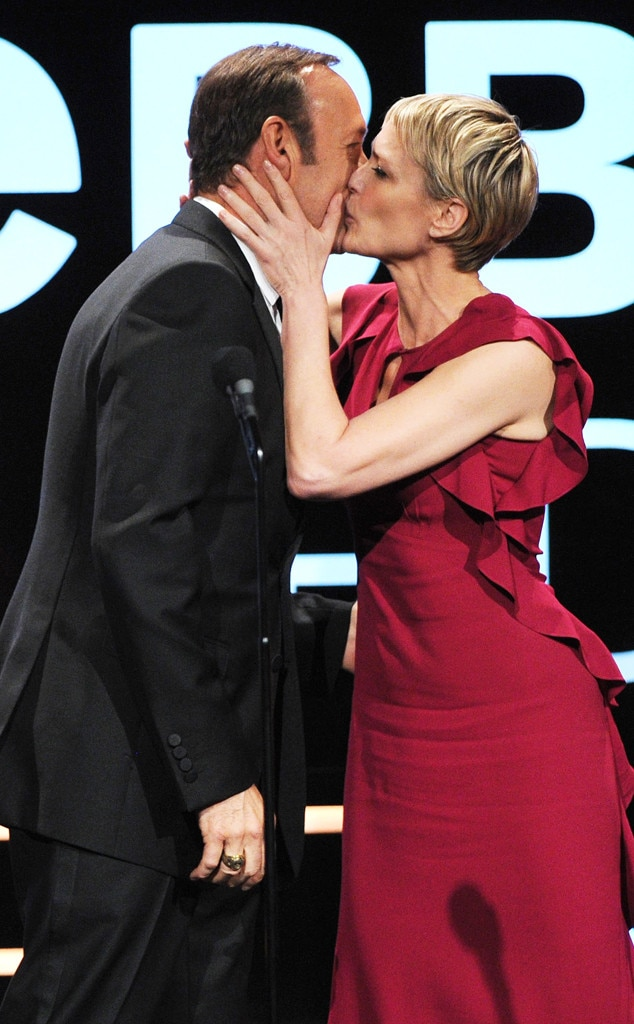 Kevin Spacey, Robin Wright, Webby Awards
