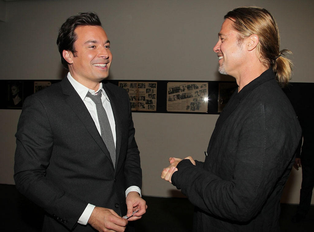 Jimmy Fallon, Brad Pitt