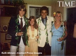 President Barack Obama, 1979 Prom Picture, TIME