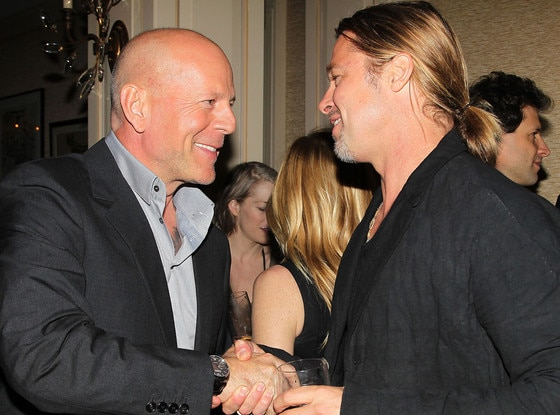 Brad Pitt, Bruce Willis