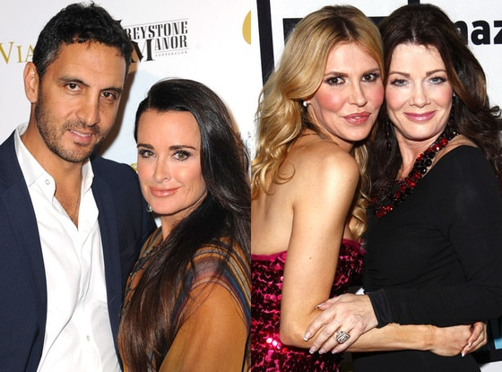 Kyle Richards, Mauricio Umansky, Lisa Vanderpump, Brandi Glanville