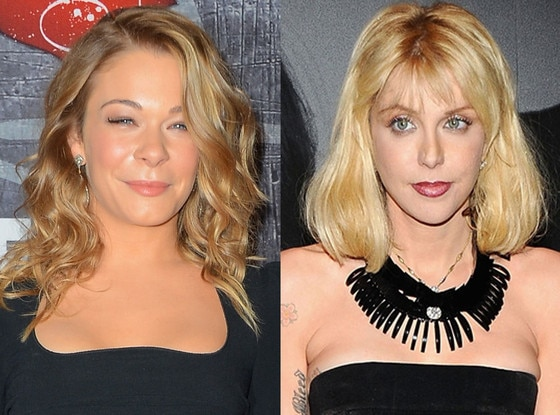 Courtney Love, Leann Rimes