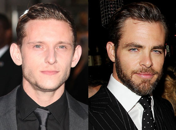 Jamie Bell, Chris Pine